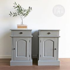 """121 Likes, 1 Comments - Rebecca • With the Grain • QLD (@withthegrainhome) on Instagram: """"Keeping it clean and simple with this handsome pair of bedside cupboards in Linen…"""""""