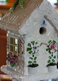 Birdie-Whitehouse by teacup mosaics, via Flickr