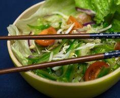 Thajský salát zeleninový Asia, Beef, Food, Meat, Essen, Meals, Yemek, Eten, Steak