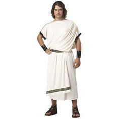 Deluxe Classic Toga (Male) Adult Costume Get up to 15% When you spend $50 at Buy Costume using Coupons and Promo Codes.