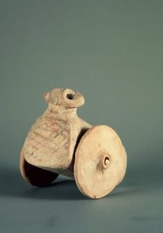 Brooklyn Museum: Asian Art: Toy Ram on Wheels Middle East Culture, Pottery Place, Indus Valley Civilization, Bronze Age, Livestock, Asian Art, Old World, Old Things, Wheels