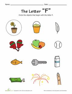 Things that start with b pre k pinterest worksheets alphabet practice alphabet phonics with your preschooler each worksheet features pictures of things that start with altavistaventures Image collections