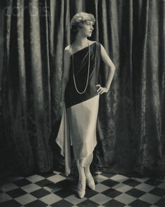 Marion Morehouse models Callot Soeurs dress, circa 1924. Photo by Edward Steichen via Corbis.