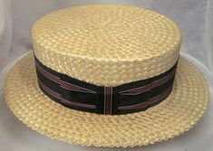 The Boater, a straw hat worn by men in the 1920s.