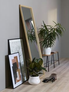 Oversized Mirror, Planters, Interiors, Inspiration, Furniture, Home Decor, Biblical Inspiration, Decoration Home, Room Decor
