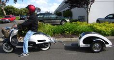 scooter trailer | Flyscooters unveils the Scooter Bug Trailer