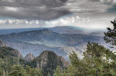 Montagne de Monzona, Nouveau Mexique