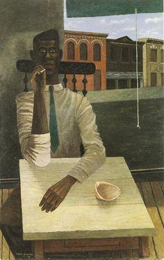 Philip Guston - Sunday Interior; 1941
