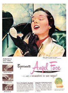imagem3Propaganda Angel Face Pó Compacto – Revista O Cruzeiro (1950)
