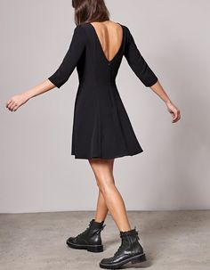 At Stradivarius you'll find 1 A-line dress for woman for just 25.95 Montenegro . Visit now to discover this and more DRESSES.