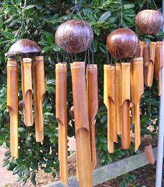 campanadas de viento de bambú