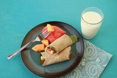 Salmon Wraps | Spend Smart. Eat Smart.  These are to die for with fresh garden tomatoes.  A unique way to use canned salmon.  A healthy and economical way to eat salmon.