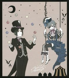 Kuroshitsuji - Sebastian and Ciel