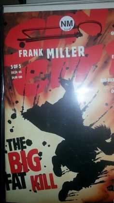 Frank Miller Signed Sin City The Big Fat Kill