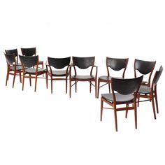 Dining chairs by Finn Juhl, 1946 Denmark, Wyeth