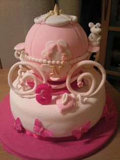 Cinderella cake for my future little girl's birthday