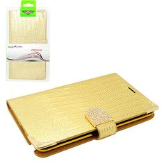 Gold Diamond Rhinestone Flip Leather Case Cover For Samsung Galaxy Note Edge  only 12.49$ free shipping