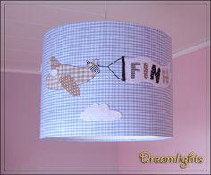 Lampenschirme - Lampenschirm ☼ Kleiner Flieger ☼ - ein Designerstück von Dreamlights bei DaWanda