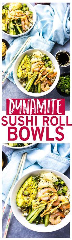 Shrimp Dynamite Sush