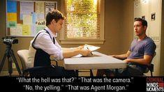 That Was Agent Morgan - Spencer Reid Criminal Minds Memes, Spencer Reid Criminal Minds, Criminal Minds Fanfiction, Dr Reid, Dr Spencer Reid, Behavioral Analysis Unit, Crimal Minds, Derek Morgan, Penelope Garcia