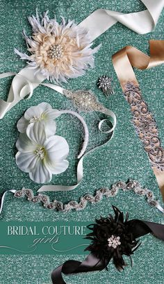Must-have wedding accessories from Bridal Couture Girls.  Photography by Kalee Ridings Photography.