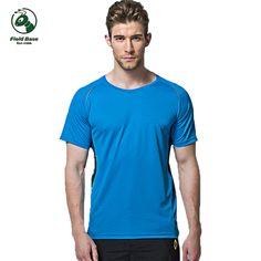 >> Click to Buy << t-shirt men t shirt men's 2017 summer quick-drying fitness tshirt FIELD BASE #Affiliate