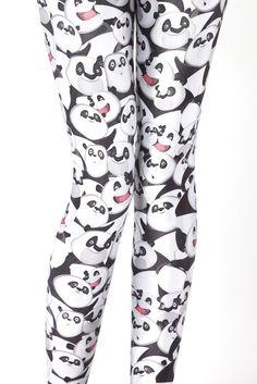 Emotional Panda Leggings