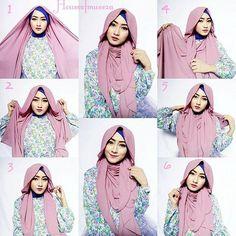 Gorgeous Hana Tajima Inspired Hijab Tutorial