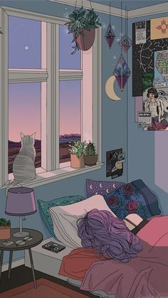aesthetic drawings trendy wallpapers drawing cat cartoon yesmissy ru illustration