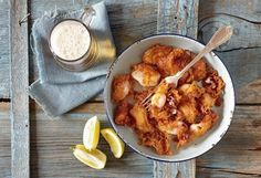 Amateur Cook Professional Eater - Greek recipes cooked again and again: Paprika scented batter-fried squids Cooking Photos, Cooking Tips, Cooking Recipes, Crab Stuffed Shrimp, Professional Chef, Food Industry, Greek Recipes, Fish And Seafood, Bon Appetit