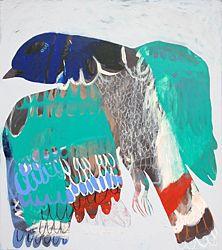 'Buffer creek pigeon' by Karlee Rawkins - upcoming exhibition at Flinders Lane Gallery Wildlife Paintings, Animal Paintings, Painting & Drawing, Painting Prints, Contemporary Australian Artists, Nature Sketch, Art Thou, School Art Projects, Bird Drawings