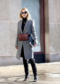 Minimal + Chic | @codeplusform // TheyAllHateUs // Elin Kling fall-winter over the knee boots style