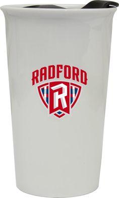 Radford University Highlanders Double Walled Ceramic Tumbler Set-NCAA Travel Mug Patch Design, Box Design, Radford University, Highlanders, Family Gifts, Tumblers, College, Warm, Ceramics