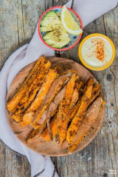 Süsskartoffel Pommes 2.0 - Mrs Flury - gesunde Rezepte Side Recipes, Fruit Recipes, Vegetable Recipes, Vegan Recipes, Salty Foods, Vegan Thanksgiving, Fabulous Foods, International Recipes, Food Inspiration