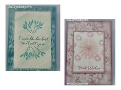 Tuesday Trio Techniques. Aquapainter, Blender Pen and Spritzer. Blooms and Bliss, Blooms and Wishes. Independent Stampin' Up!® Demonstrator UK.