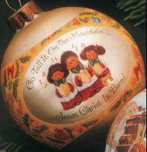 NEED 1980 Hallmark Christmas Choir Ball (NB)   Ornamentmall.com