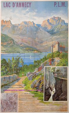 Tanconville Lac D Annecy Plm 106X71,5 Chromotypographie Berger Levrault Et Cie | Flickr - Photo Sharing!