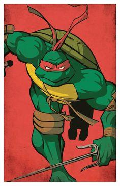 Trousse d/'écolier Teenage Mutant Ninja Turtles Tortues Ninja 1989 TMNT