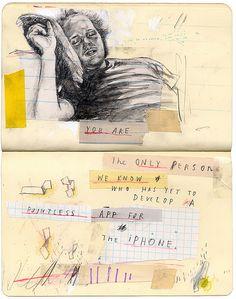Sketch Book Moleskine by David Fullarton, via Behance Sketch Journal, Artist Journal, Artist Sketchbook, Sketchbook Pages, Notebook Sketches, Moleskine Notebook, Sketchbook Ideas, Illustration Arte, Sketchbook Inspiration