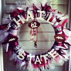 I like this wreath, but I'd have 22 instead of 62