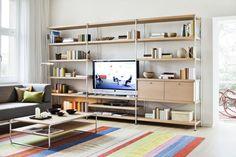Modular, minimal und individuell: Das neue Regalsystem 7000 - THONET-Möbel - Stühle, Tische, Sessel und Sofas, Design-Klassiker aus Bugholz und Stahlrohr