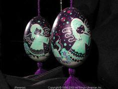 Ukrainian Easter Egg Pysanky 03-137by Iryna Vakh  from Lviv, Ukraine on AllThingsUkrainian.com