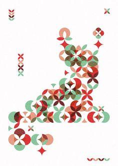 Geometric Garden Print ~ Mamau le petite monde