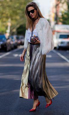 La moda se apodera de las calles de Nueva York - Foto 9