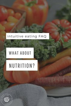 Intuitive Eating FAQs: What About Nutrition? Learn when nutrition comes into play with a non-diet approach and why it's so important to reject the diet mentality first #intuitiveeating #haes #healthateverysize #nutrition #nondietapproach Smart Nutrition, Nutrition Quotes, Nutrition Plans, Nutrition Information, Kids Nutrition, Diet And Nutrition, Nutrition Tracker, Nutrition Classes, Cheese Nutrition