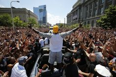 The three-time NBA winner guided Cleveland to their first-ever championship on Sunday with another virtuoso display in the Finals