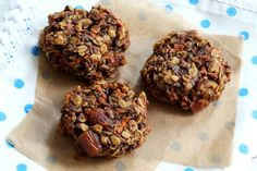 Healthy Carrot and Date Cookies.