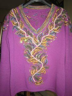 Oude trui wat veranderd