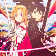Asuna & Kirito Kirito, Sword Art Online, Fairy Tail, Renaissance, Manga Anime, Otaku, To My Daughter, Nerd, Ships