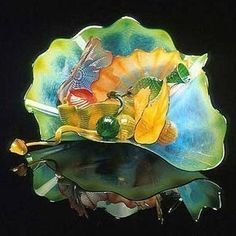 Dale Chihuly. His work always brings me joy.